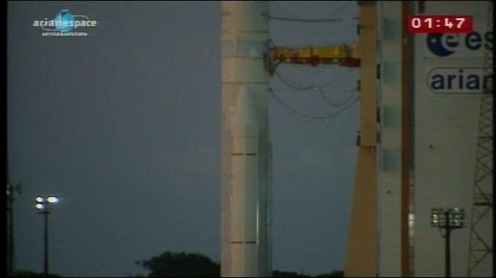 Ariane 5 ECA VA203 / ASTRA 1N + BSAT-3c - (06/08/11) Vlcsna11