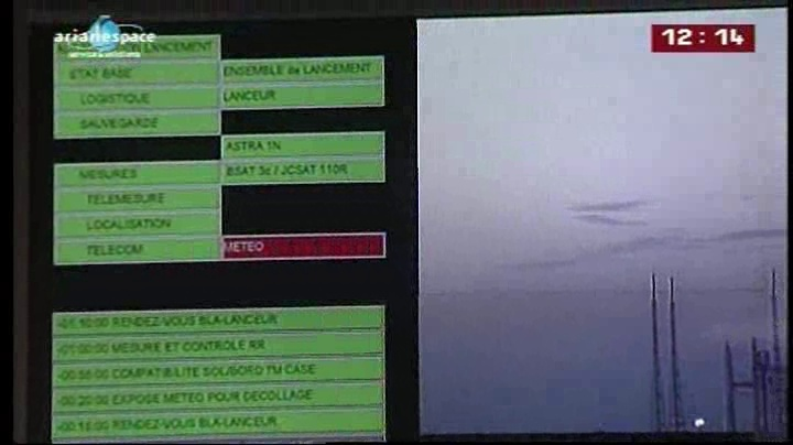 Ariane 5 ECA VA203 / ASTRA 1N + BSAT-3c - (06/08/11) - Page 4 Vlcsna13
