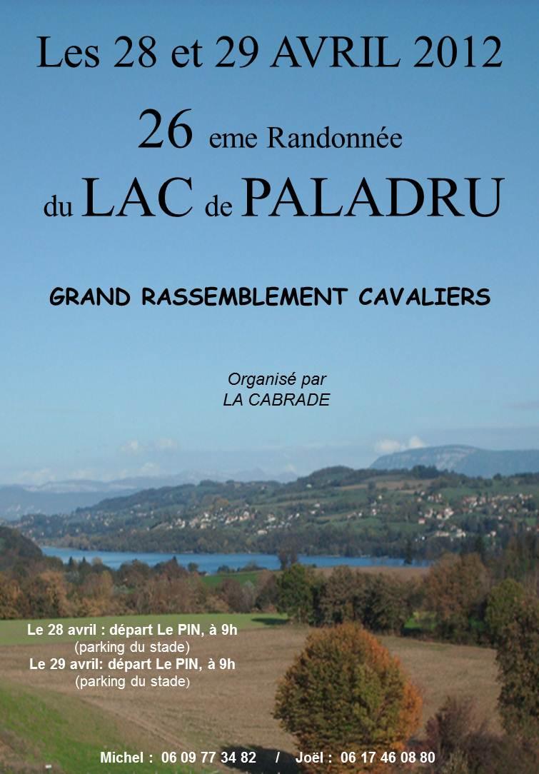 Randonnée du tour du lac de Paladru les 28 et 29 Avril Diapos10