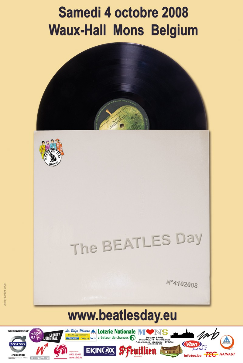 Beatles Day de Mons : édition 2008 Affich11
