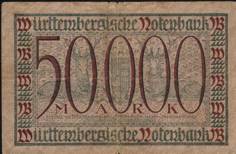 Billetes de Alemania Billet21