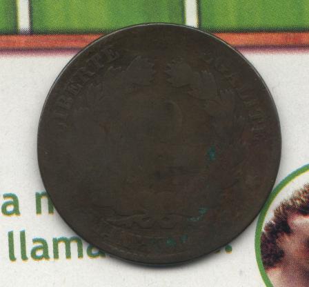 Francia, 10 centimes, Napoleon III, ¿1856? France12
