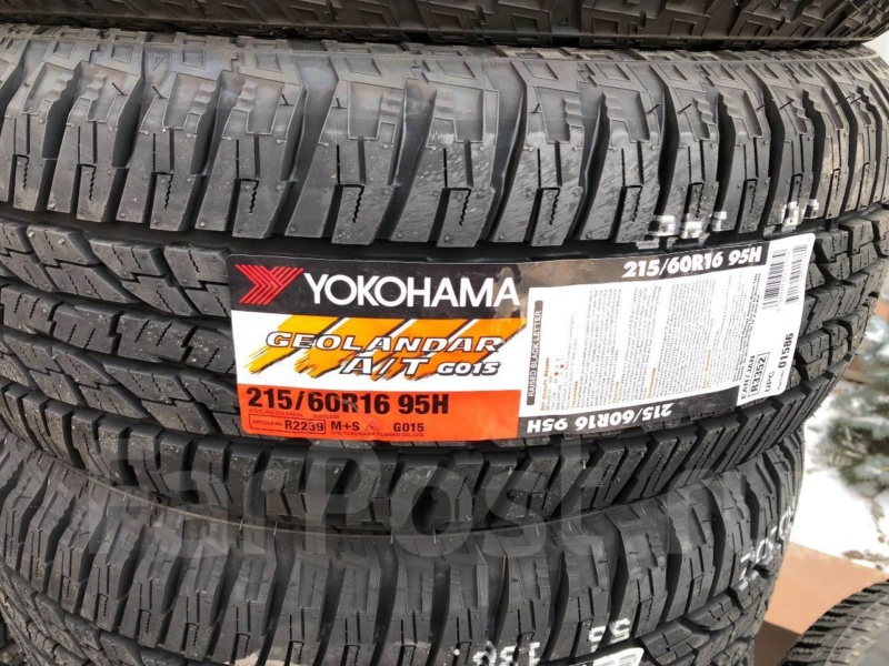 215/60/17 Yokohama Geolandar G012 A/T-S 96H  G01510
