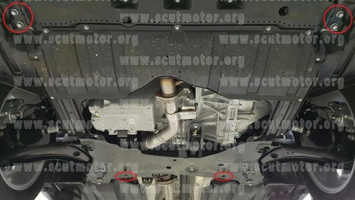 SCUT SKID PLATES  Scut410