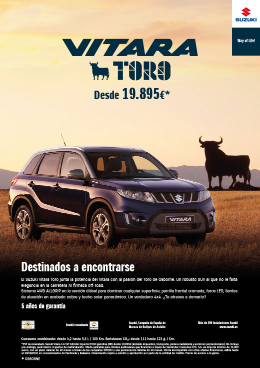VITARA TORO SPAIN Vitara14