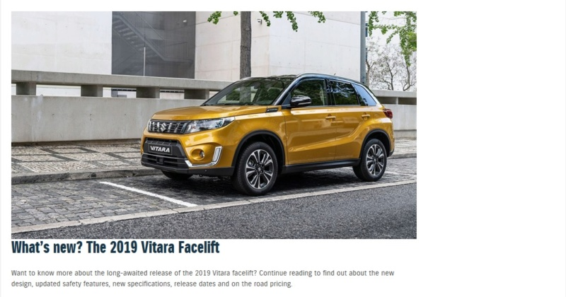 2019 VITARA II PRICES AND SPECIFICATIONS Vitnew11