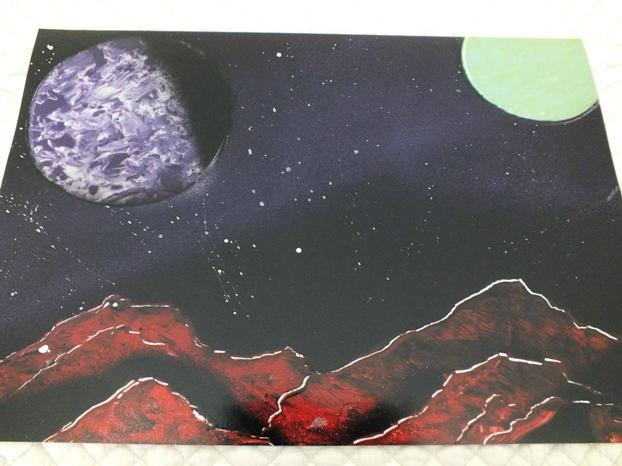 Mes deux PREMIERES peintures :) A1byl10