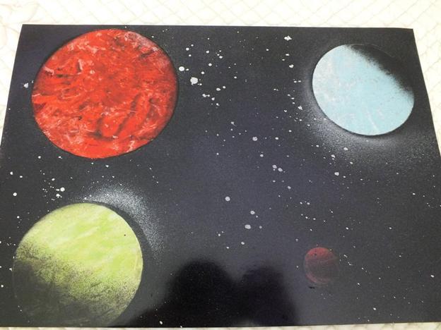 Mes deux PREMIERES peintures :) Sez8y10