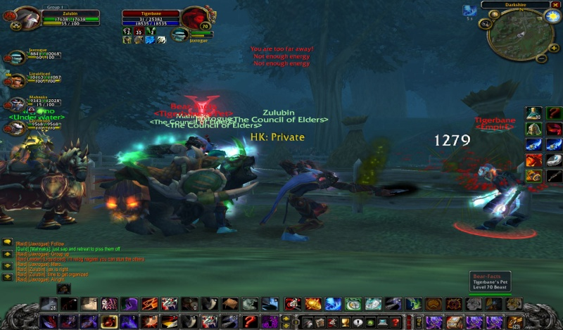 This hunter must be  pissed(EMPIRE) Wowscr32