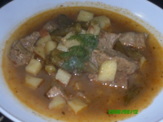 Бамия (Бамия с телятиной). Арабская кухня Z_108411