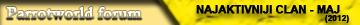 Najzasluzniji clanovi na forumu :) Maj_110