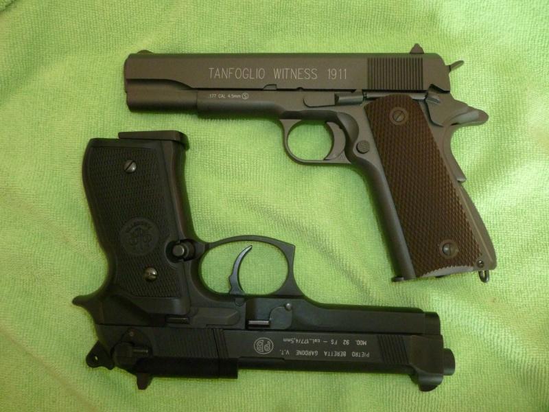 Beretta fs 92   Walther CP99   Tanfoglio 1911 Pistol13