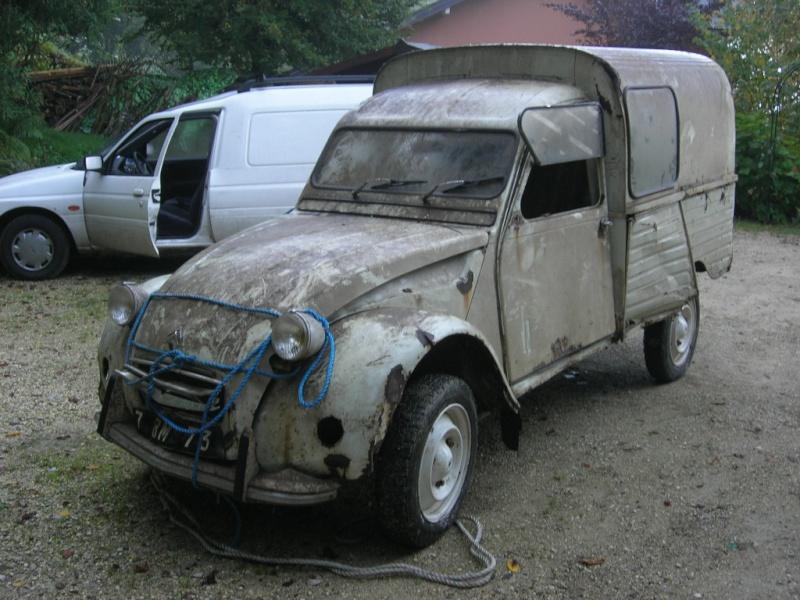 2cv pick up roadster    la fin ...... [des news.... ] Dscn4910