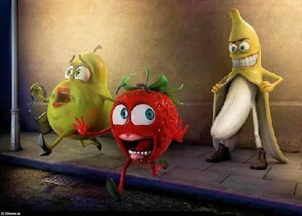 Banana gone wild vs Cuppies horny tomato Kitche10