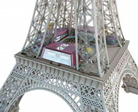 Pamje e re për Kullën Eiffel dhe muzeun Orsay 1283