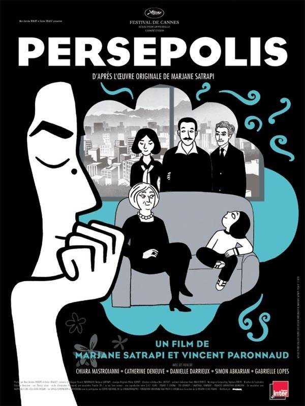 Persépolis recomendación de la semana (hasta el 9 de octubre) Cartel10