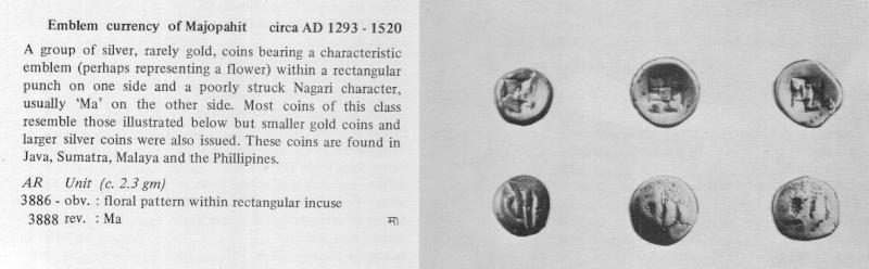 monnaie du royaume de MAJOPAHIT ( java - indonésie ) Indona10