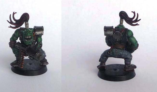 Les figurines de Gork Ork110