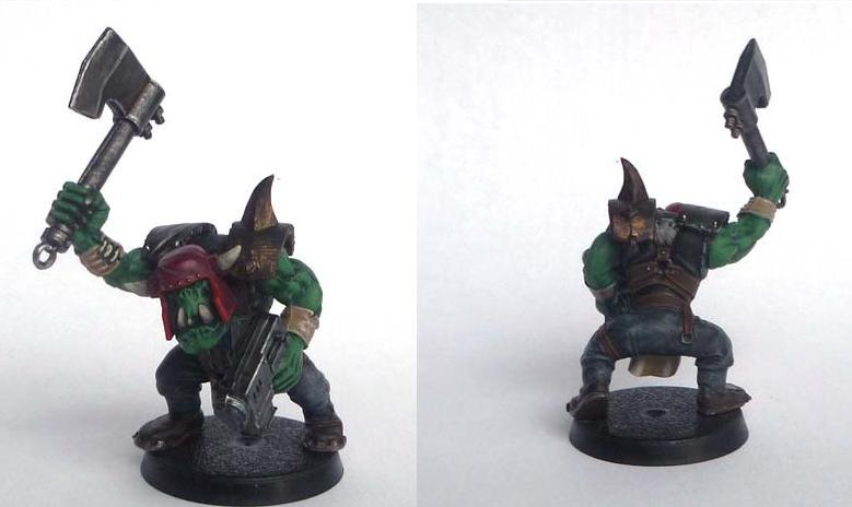 Les figurines de Gork Ork210