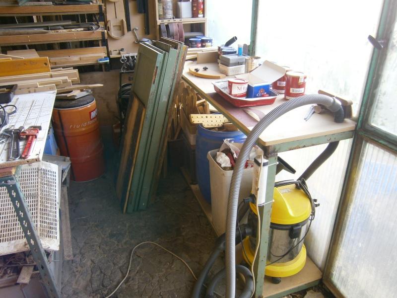 """Mon atelier avec """"ses défaut""""... P1040110"""