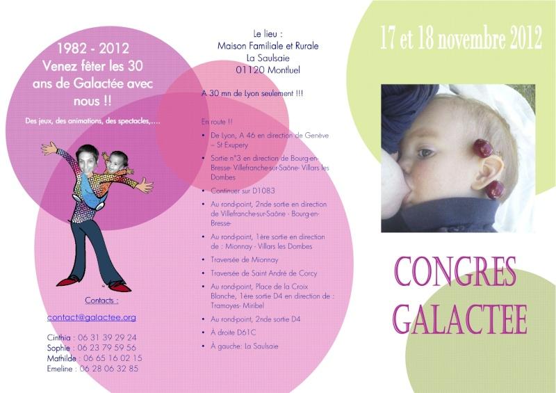 Congrès Galactée 17-18 novembre 2012 Galact12