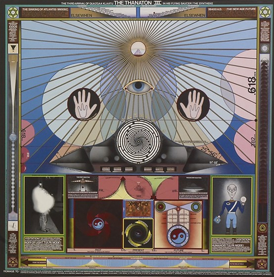 Paul Laffoley peintre alchimiste 5079210