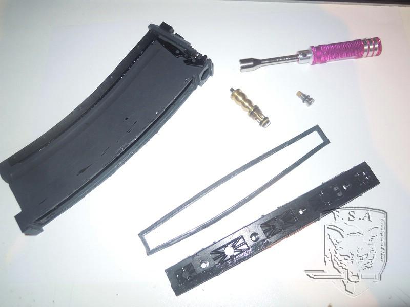 [Tuto] Réparation chargeur V1 GBBr (ici un chargeur de Scar ou M4 WE) Dscn2710