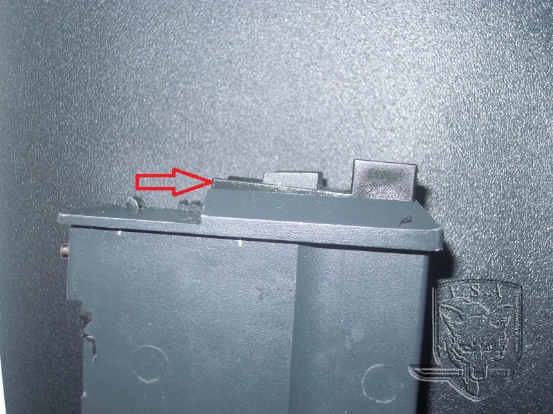 [Tuto] Réparation chargeur V1 GBBr (ici un chargeur de Scar ou M4 WE) Dscn2721