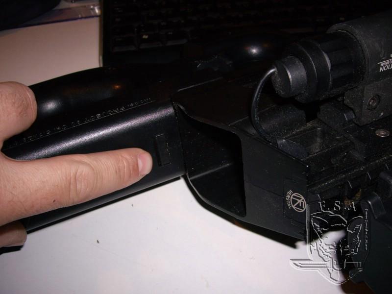 [Tuto] Démontage d'un bloc hop up , remplacement d'un canon et d'un joint pour P90 Imgp3010