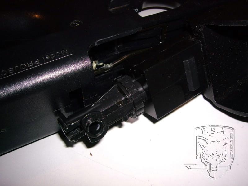 [Tuto] Démontage d'un bloc hop up , remplacement d'un canon et d'un joint pour P90 Imgp3011
