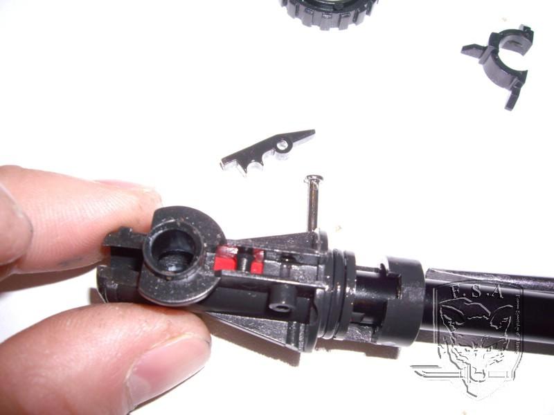 [Tuto] Démontage d'un bloc hop up , remplacement d'un canon et d'un joint pour P90 Imgp3019