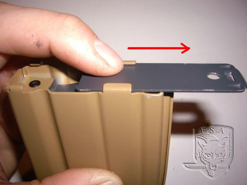 [Tuto] Réparation chargeur V1 GBBr (ici un chargeur de Scar ou M4 WE) Imgp3811