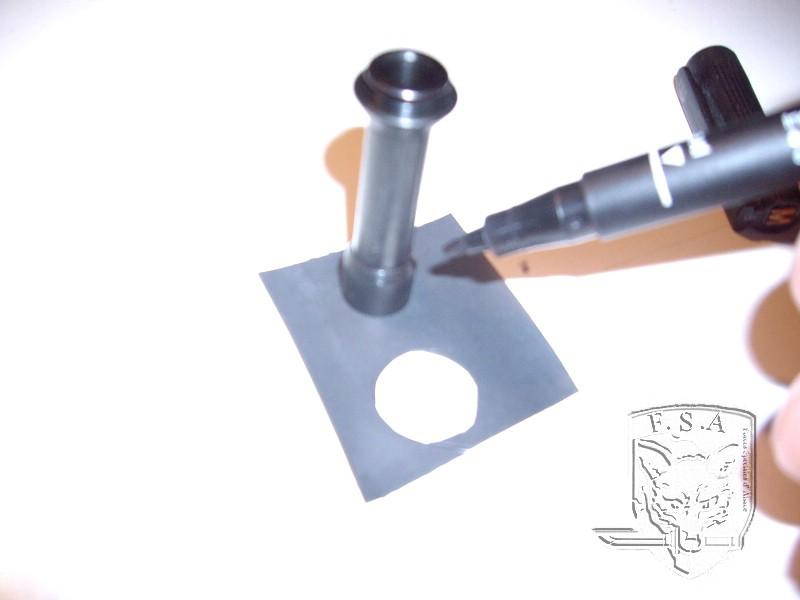 [Tuto] Modification du piston pour éviter le jeu au niveau de la culasse: Imgp4513