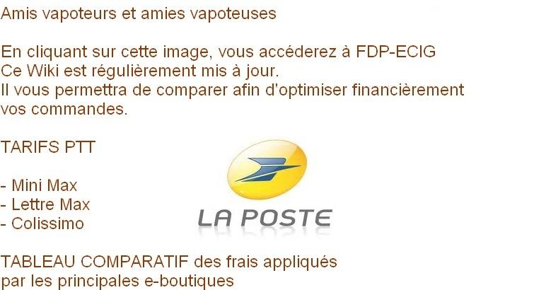 TARIFS PTT - TABLEAU COMPARATIF DES FRAIS DE PORT Image_10
