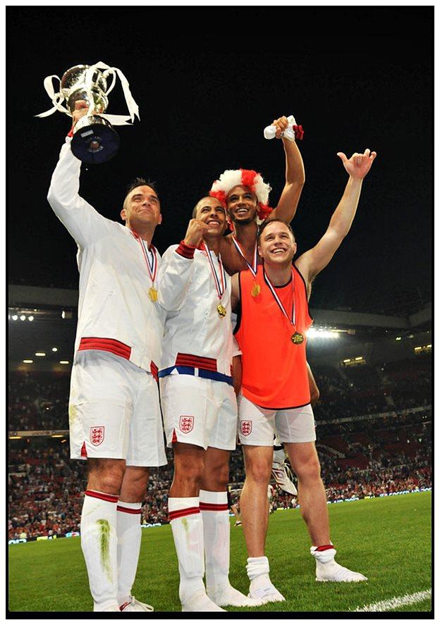 Une belle victoire au Soccer Aid =) 12matc17