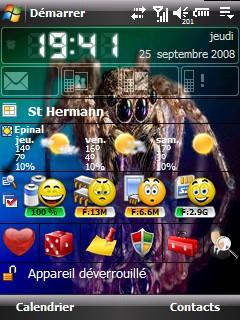Battery Status pour htc diamond Htc_ch12