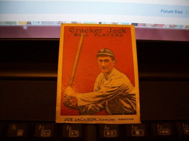 Joe Jackson Cracker Jack card Joe_0010