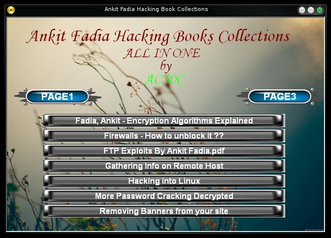 Ankit Ebooks Hacking Ankit110