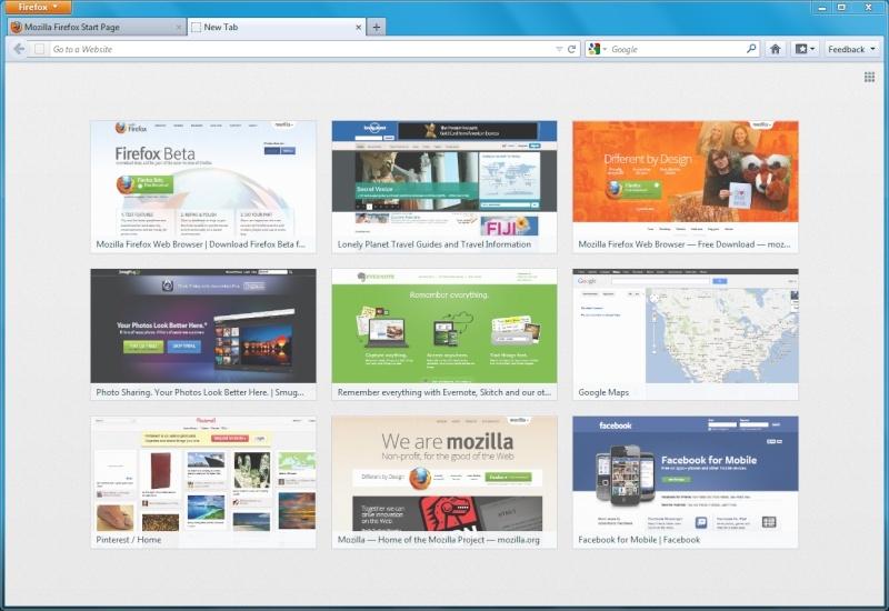 Firefox Beta 12 y 13  Firefo10