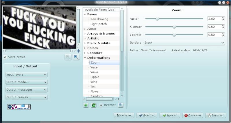 G'MiC Linux210