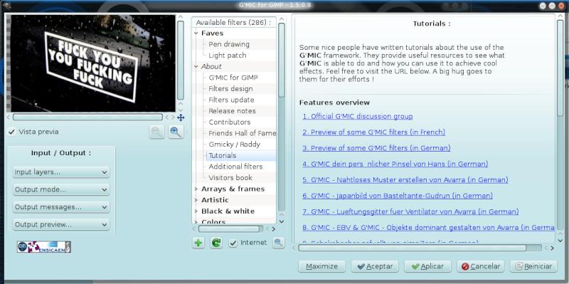 G'MiC Linux211