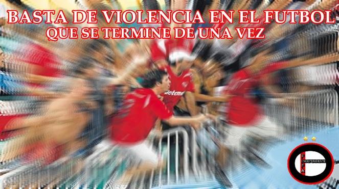 Basta de Violencia en el futbol. Messi110