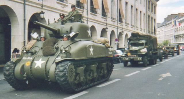 Libération de 1944 : 60 ans de commémoration à ORLEANS 60e_an10