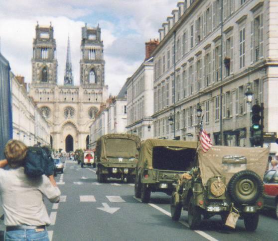 Libération de 1944 : 60 ans de commémoration à ORLEANS 60e_an12