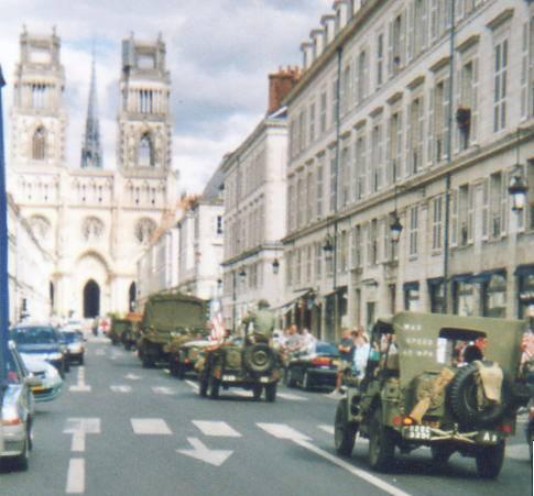 Libération de 1944 : 60 ans de commémoration à ORLEANS 60e_an14