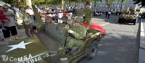 Commémoration Aout 2012 : Le 16 août 1944, la ville d'Orléans était libérée par les troupes américaines 80299910