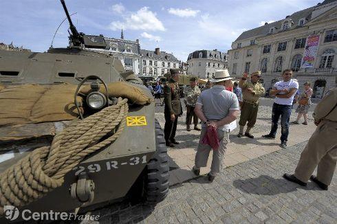 Commémoration Aout 2012 : Le 16 août 1944, la ville d'Orléans était libérée par les troupes américaines 80323610