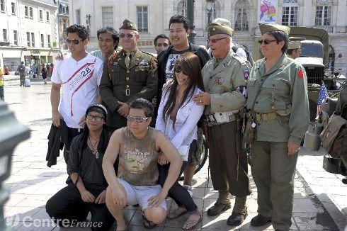 Commémoration Aout 2012 : Le 16 août 1944, la ville d'Orléans était libérée par les troupes américaines 80323910
