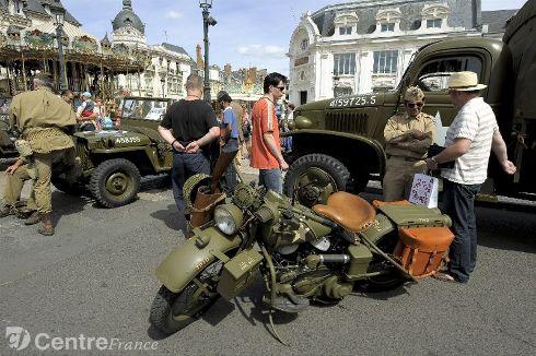 Commémoration Aout 2012 : Le 16 août 1944, la ville d'Orléans était libérée par les troupes américaines 80324110