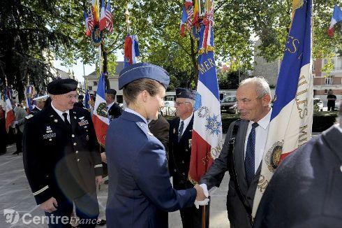 Commémoration Aout 2012 : Le 16 août 1944, la ville d'Orléans était libérée par les troupes américaines 80324310